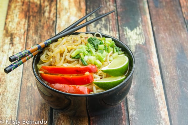 asian noodle bowls - healthy & amazingly delicious!! | www.thewickednoodle.com