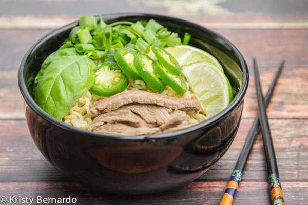 5-minute faux pho recipe | www.thewickednoodle.com | #pho #ramen