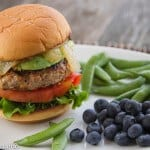 the secret is to toss the veggies in a blender before adding to the turkey meat! Makes for a super-moist, flavorful & healthy burger! | www.thewickednoodle.com