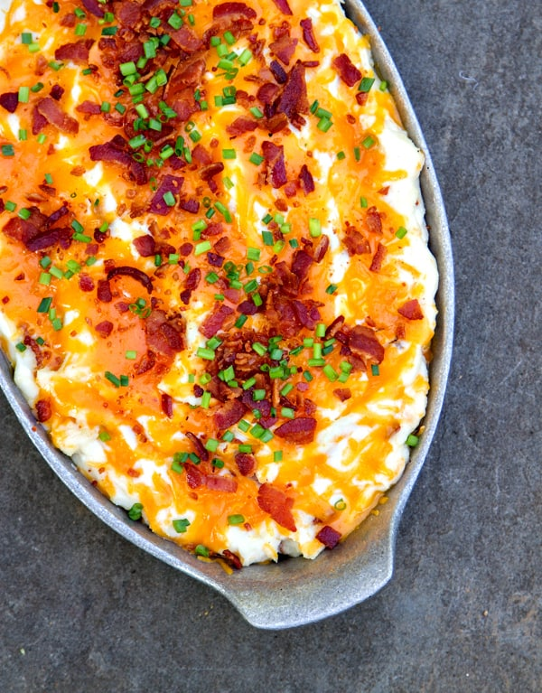 These are the BEST mashed potatoes you will ever make or eat! Save the recipe for when you're ready for an indulgent treat :)
