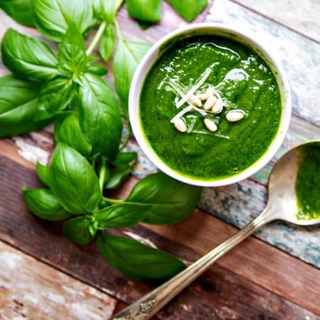 basil pesto {and 25 awesome ways to use it}