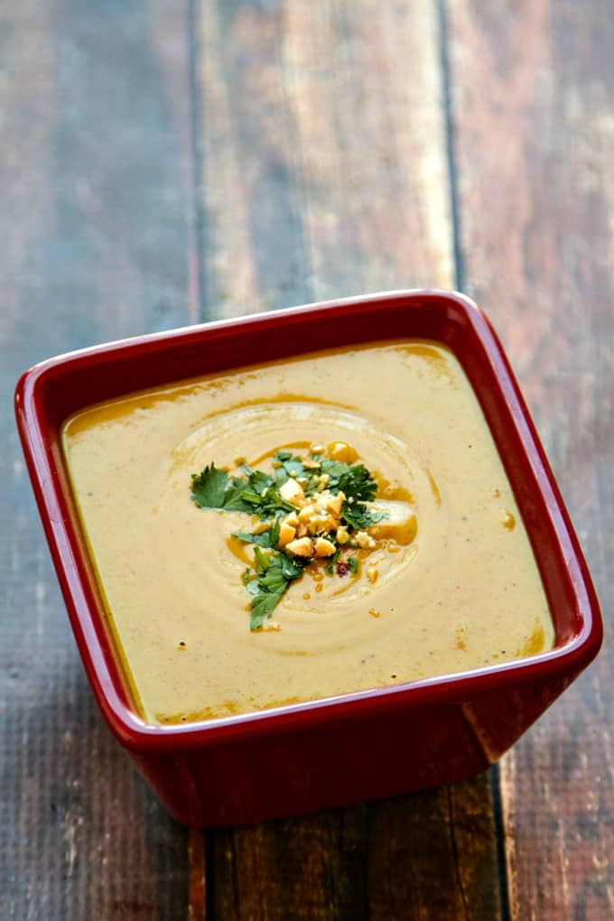 coconut-curry dressing {goes with a superfood thai chopped salad}