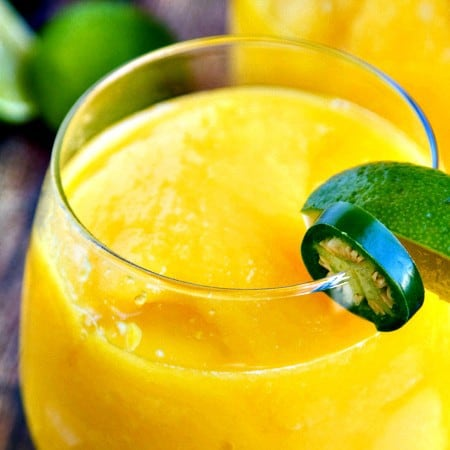 mango margaritas {by the pitcher}
