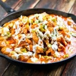Buffalo Chicken & Potato Skillet