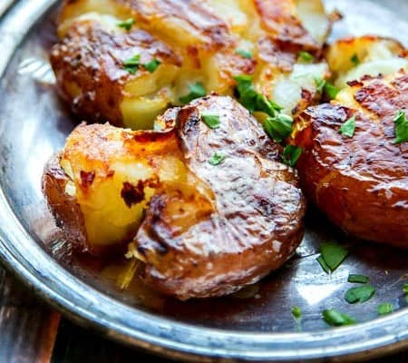 Crispy Smashed Potatoes, Sexy-Ugly Style