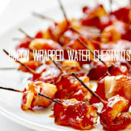 Bacon Wrapped Water Chestnuts {Rumaki}