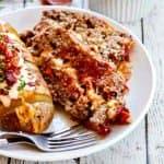 Brown Sugar Meatloaf with Chipotle Gouda