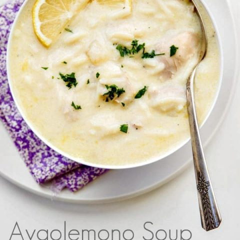 Avgolemono Soup (Chicken Soup with Egg and Lemon)