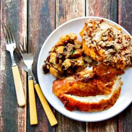 A Juicy Turkey Recipe {with Crispy Skin!}