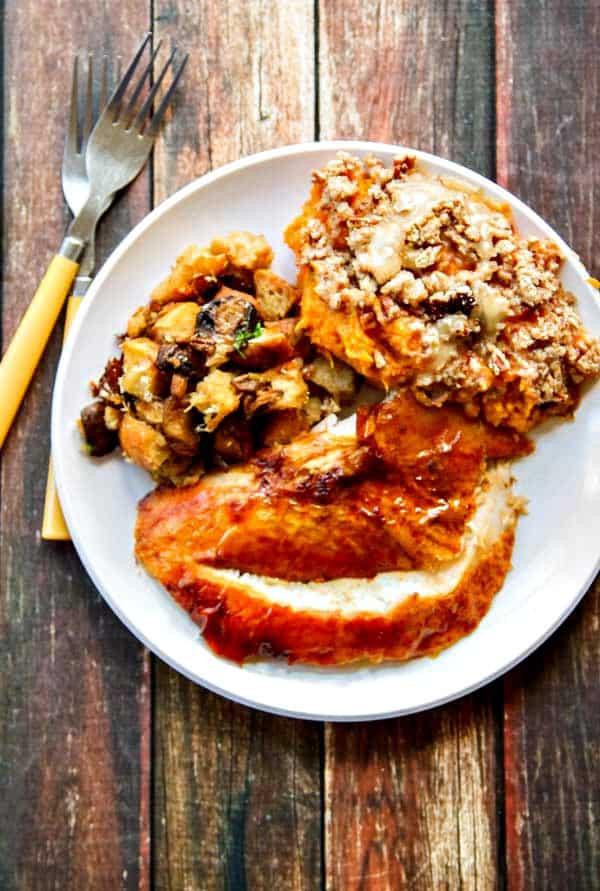 A Juicy Turkey Recipe {with Crispy Skin!}