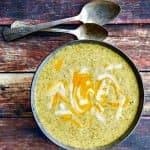 Cheesy Broccoli Soup (Roast Your Broccoli!)