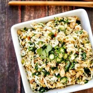 Asian Ramen Salad (an updated version)
