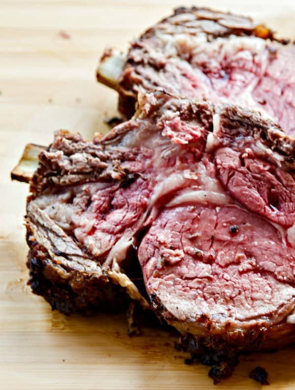 Standing Rib Roast {Prime Rib} with Horseradish Cream • The Wicked ...