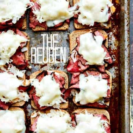 Reuben Sandwiches with Spicy Sriracha Thousand Island