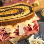 The Reuben Sandwich is so much better made at home - especially with a Spicy Sriracha Thousand Island Dressing. Make them mini and/or open-faced, too!