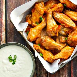 Crispy Baked Buffalo Wings (as good as fried)!