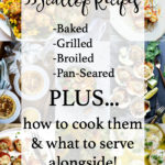 text for scallops recipes for pinterest