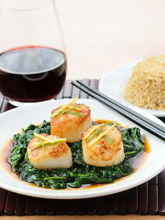 Hong Kong Style Scallops - plus more awesome Scallop Recipes!