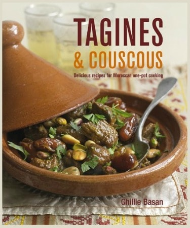 Tagines & Couscous - a beautiful cookbook with delicious and healthy recipes.