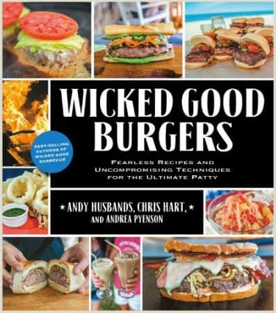 My daughter bought me this cookbook for Christmas - great recipes for amazing burgers!