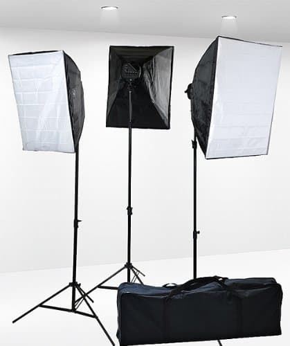 softbox lighting kit for food photography