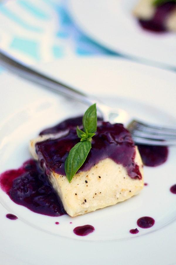 Mahi Mahi with Blueberry Beurre Blanc (plus more awesome Mahi Mahi recipes)!