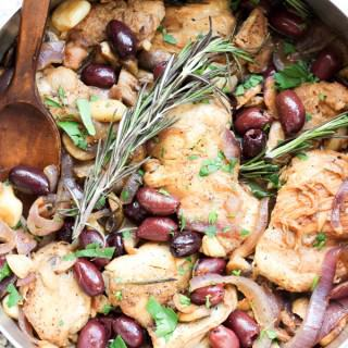 Italian Garlic Chicken Skillet