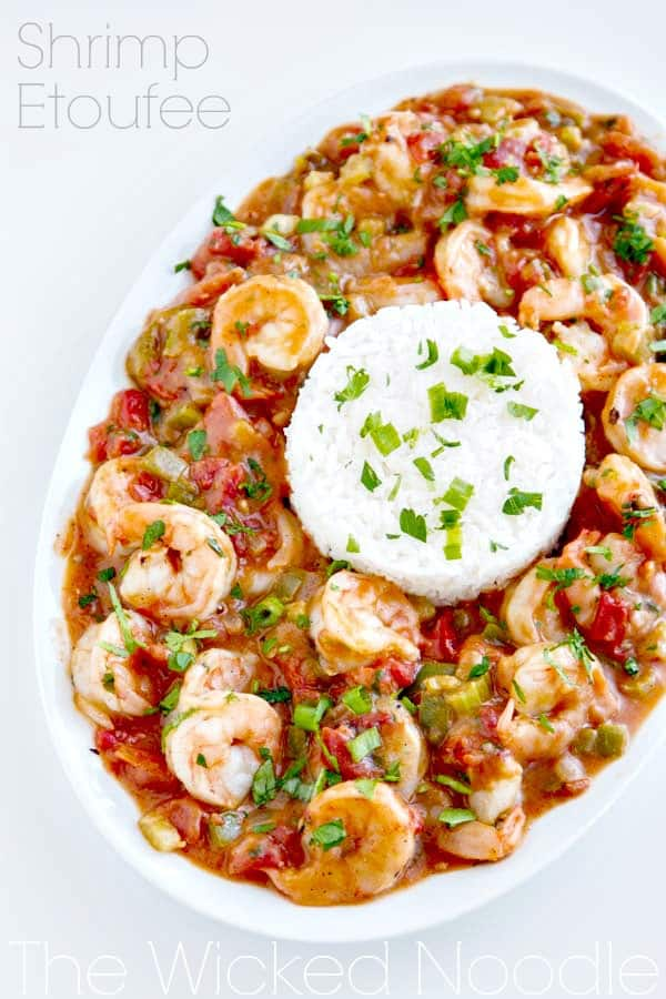 Put this easy Shrimp Étouffée recipe on your dinner menu! It's a fantastic dish that everyone will rave over!