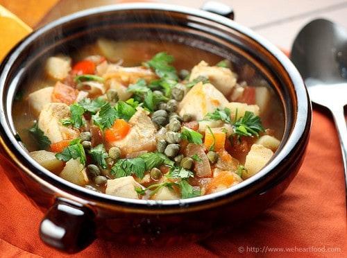 Basque Fish and Potato Stew (plus more awesome Mahi Mahi recipes)!
