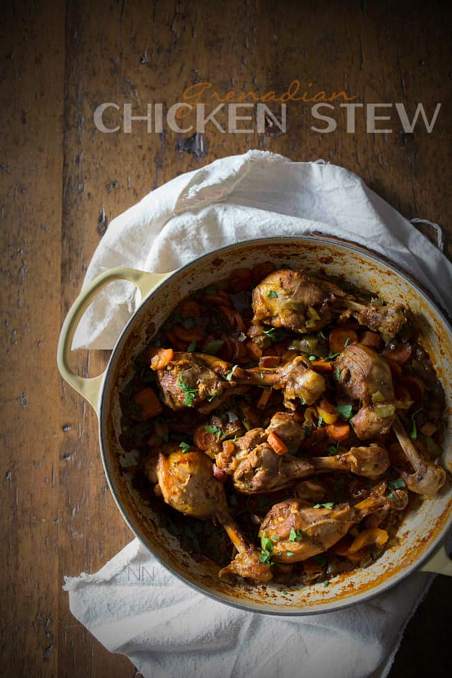 Grenadian Chicken Stew - plus more easy, awesome chicken drumstick recipes!