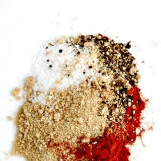 Dry Rub for Ribs – just 5 fabulous spices!