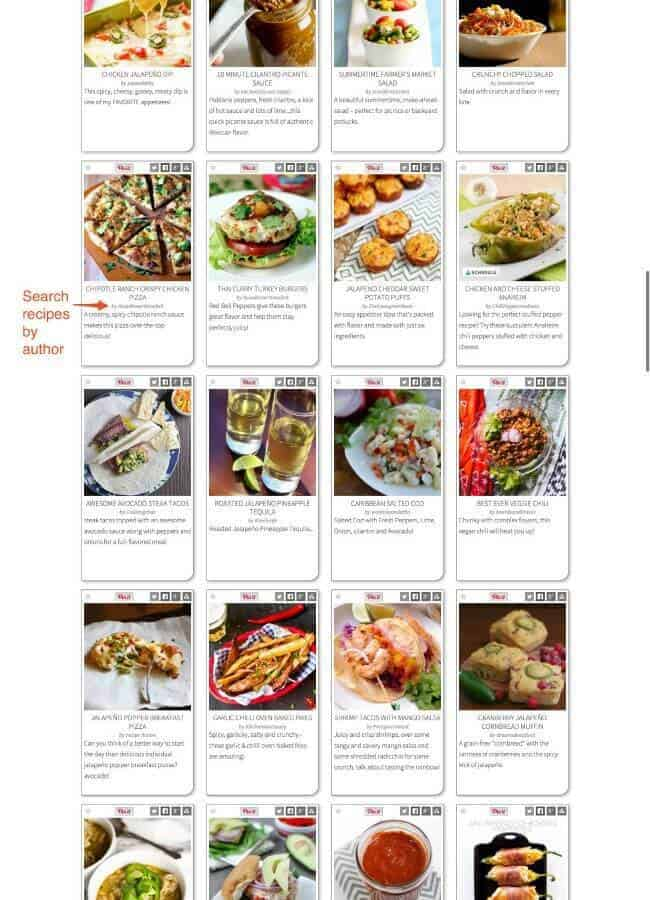 Do you love peppers? Mild, scorching hot and everything in between? Check out Jalapeño Mania for tons of great recipes (and submit your own and link to your own site, too)!