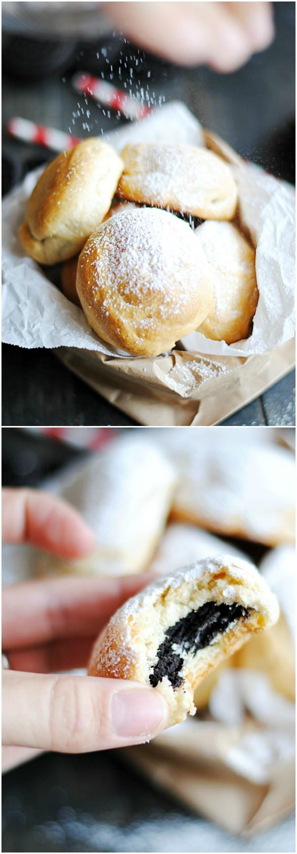 "Baked ""Deep Fried"" Oreos - plus a collection of both sweet and savory recipes using Crescent Roll dough!"
