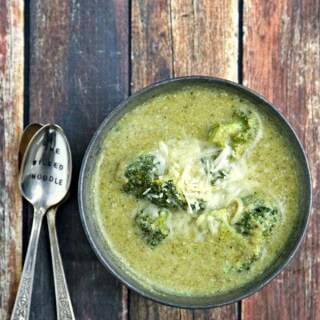 Better For You Broccoli Soup
