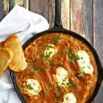 Baked Eggs Recipe in Tomato Chipotle Sauce