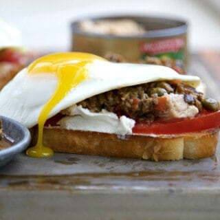 Nicoise Salad Tuna Melt