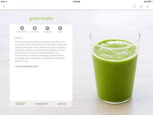 The Blender Girl Smoothie App