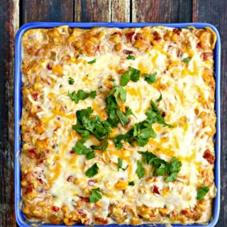 Hot Mexican Corn Dip
