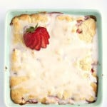 Lemon Pastry Bars with Strawberries