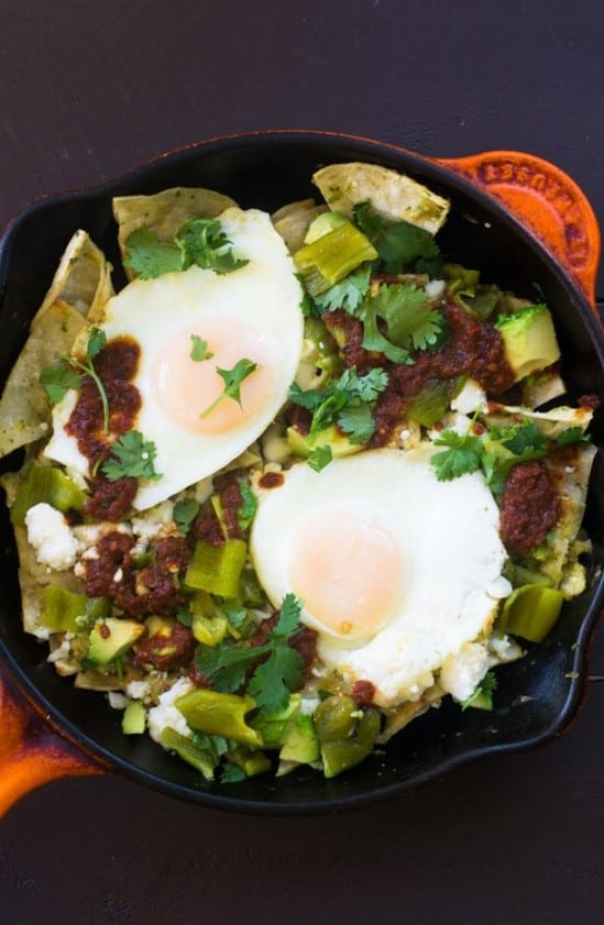 Double the Hatch Chile Chilaquiles - plus 49 more fabulous Hatch Chile Recipes!