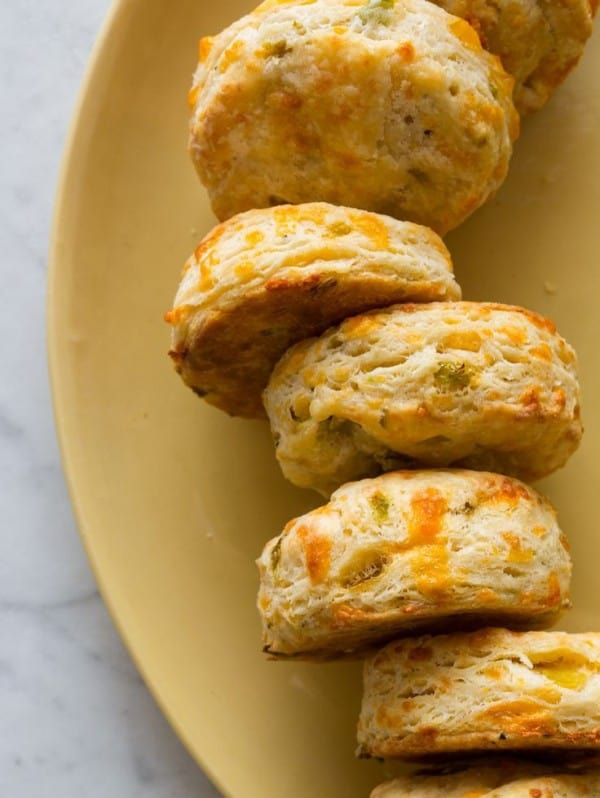 Hatch Chile Cheddar Biscuits - plus 49 more fabulous Hatch Chile Recipes!