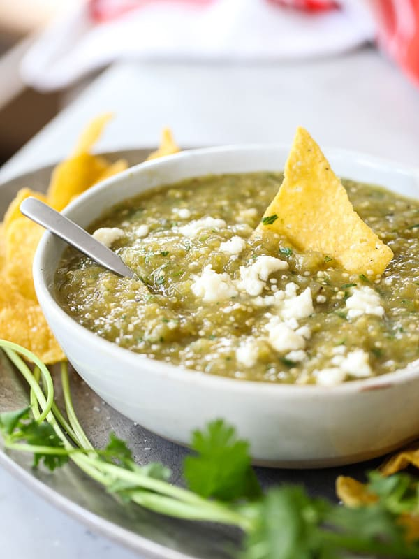 How to make Salsa Verde - plus 49 more fabulous Hatch Chile Recipes!