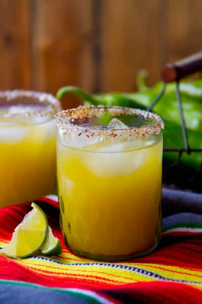 Hatch Chile Margaritas!! Plus 49 more fabulous Hatch Chile Recipes!