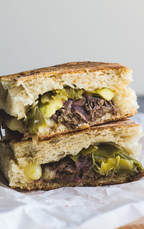 Southwestern Steak and Cheddar Panini - plus 49 more fabulous recipes using Hatch Chiles!