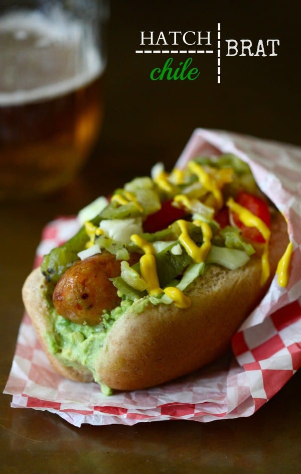 Hatch Chile Brats - oh yeah!! Plus 49 more Hatch Chile recipes!