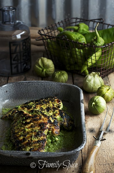 Hatch Chile Verde with Chicken - plus 49 more fabulous Hatch Chile recipes!
