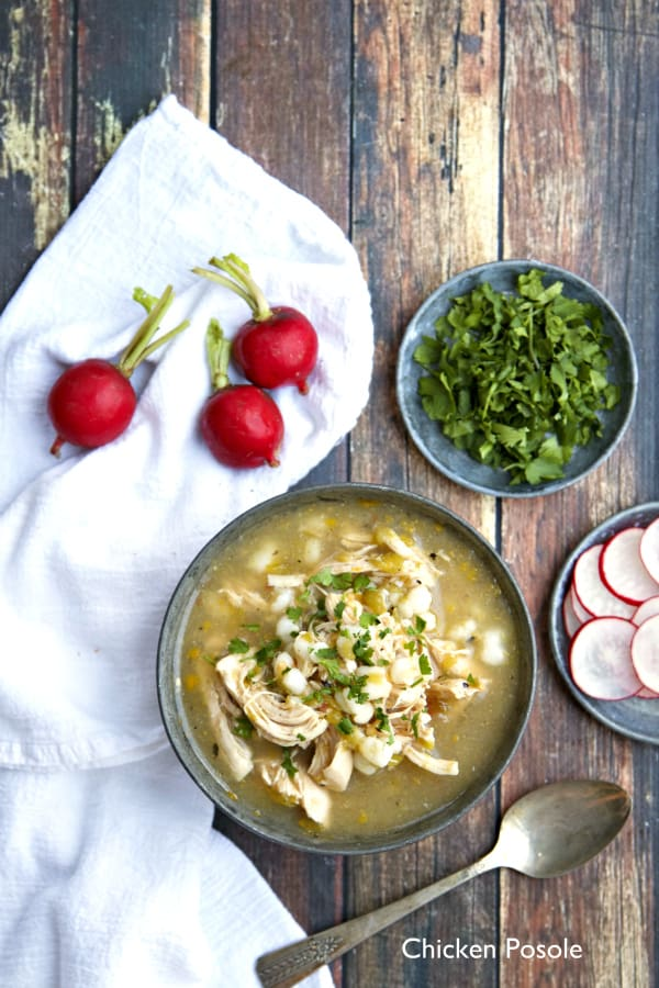 Seriously good Chicken Posole - plus 49 more fabulous Hatch Chile recipes!
