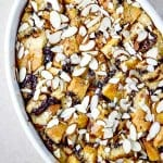 Chocolate Almond Bread Pudding Recipe