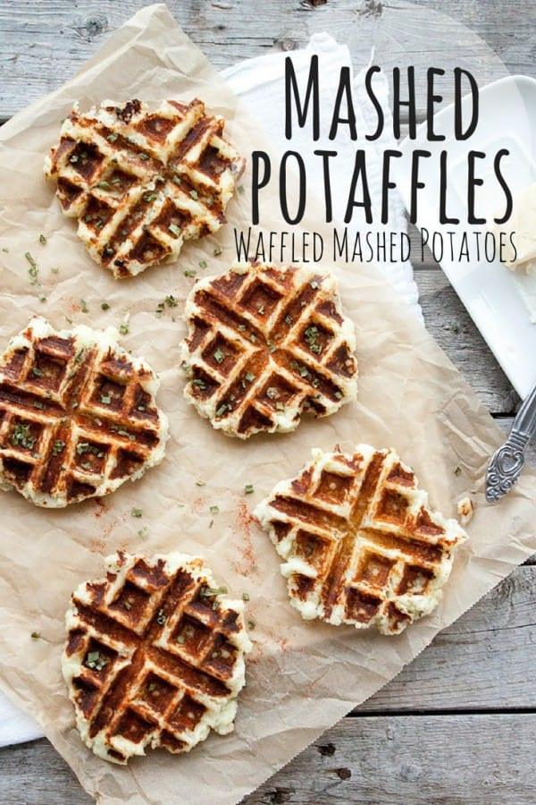 Mashed Potaffles PLUS 18 more creative ways to use your Thanksgiving leftovers!