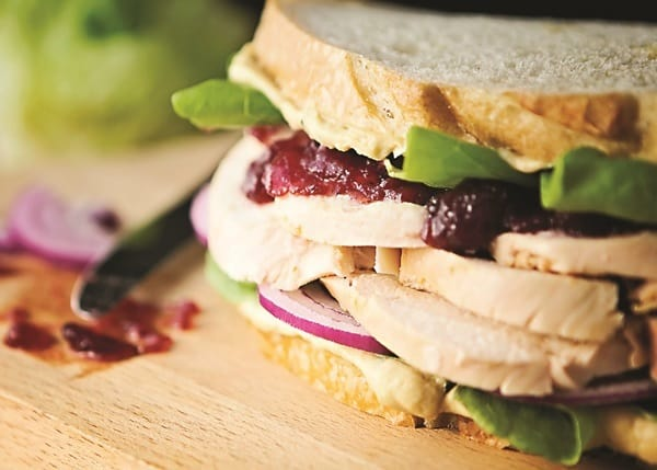 Upgraded Turkey Cranberry Sandwiches plus 18 more creative Thanksgiving leftover recipes!